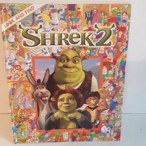 Shrek 2 Look and Find Hardcover 2004